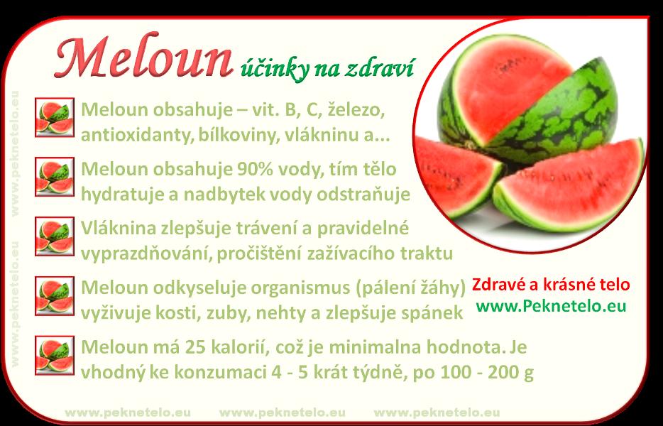 Info obrazek cerveny meloun