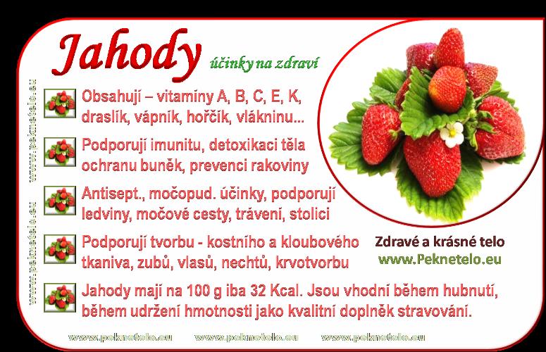 info obrazek jahody ovoce
