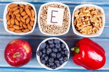 potraviny obsahujici vitamin E