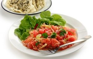 vietnamský pomelový salát
