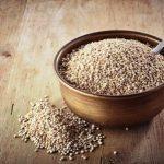 amarant semena v misce