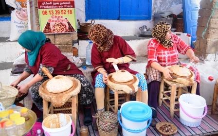 Tradiční výroba marockého arganového oleje