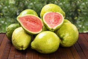 brazilska guava ovoce