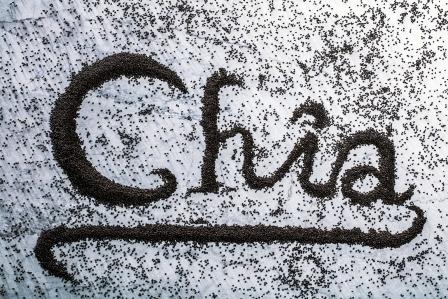 slovo chia slozene ze semen chia