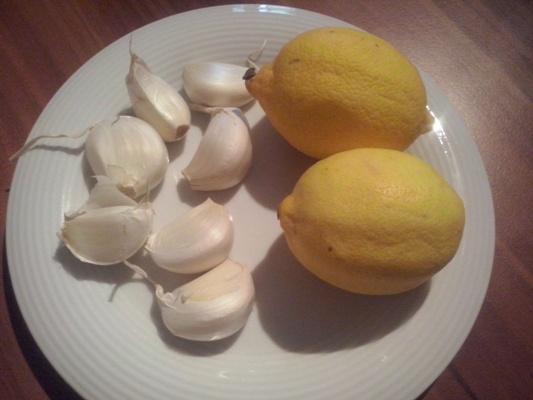 cesnak citron