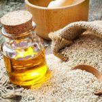 sezam a sezamovy olej