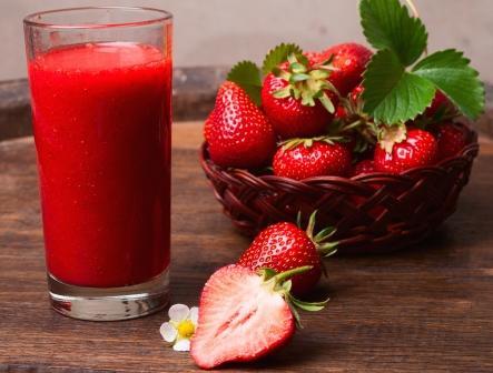 jahodove smoothie