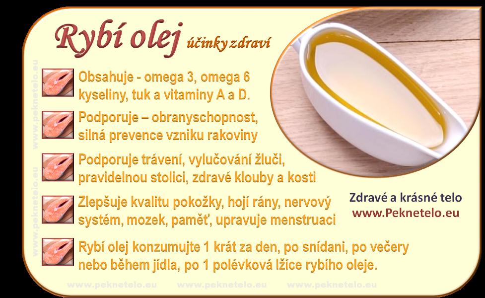 Info rybi olej