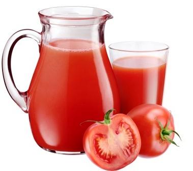 paradajková šťava - džús