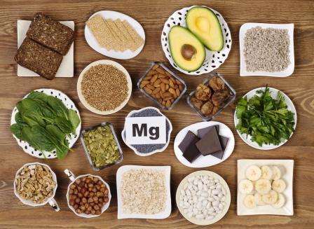 hořčík magnézium potraviny s jeho obsahem