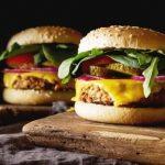 vegetariansky hamburger