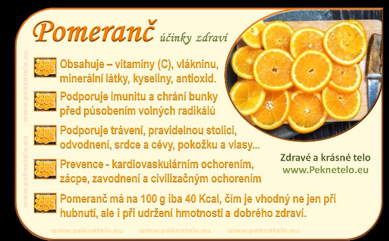 Info obrázek pomeranč