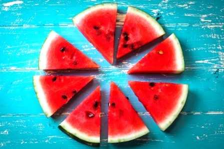 kousky melounu
