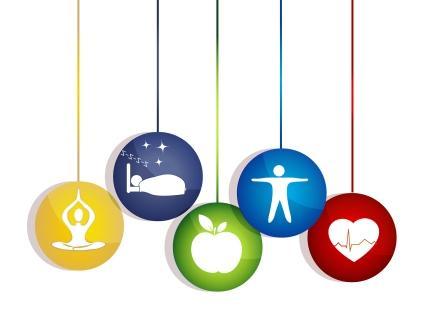 Meditace dobrý spánek zdravé jídlo a fitnes vede k zdravému srdci a životu. Spúsoby udržení zdravého srdce