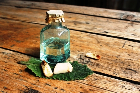 lopuchový olej