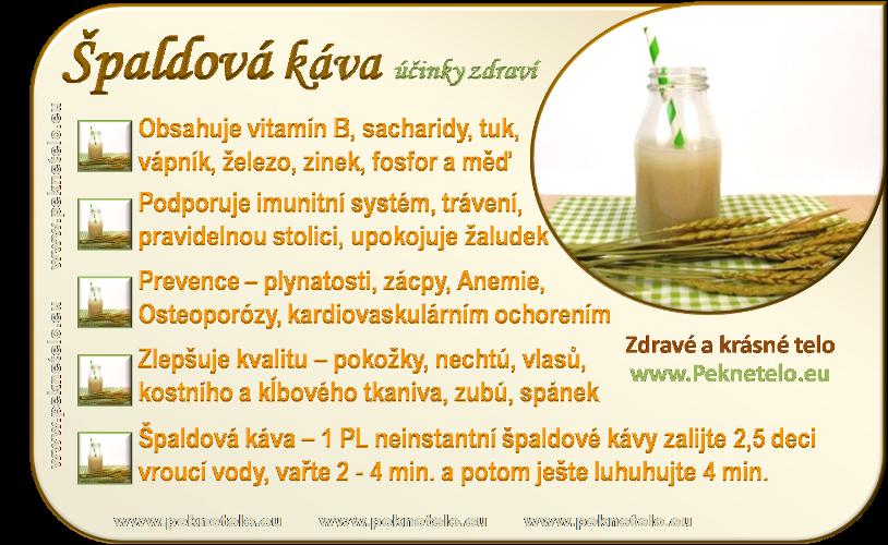 Info obrázek špaldové kávy