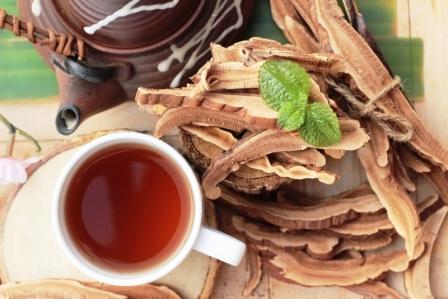 Lingzhi houbová reishi káva
