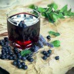 borůvková šťáva s lesným ovocím