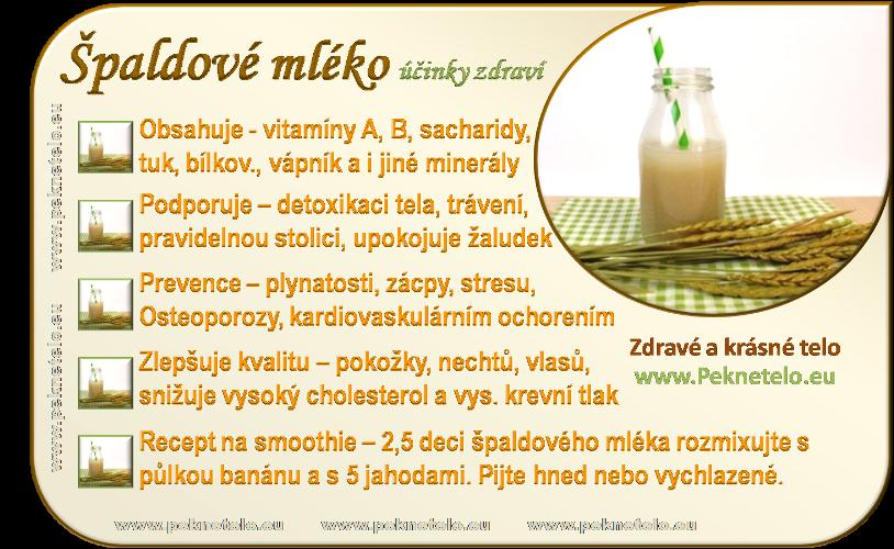 info obrazok spaldove mleko