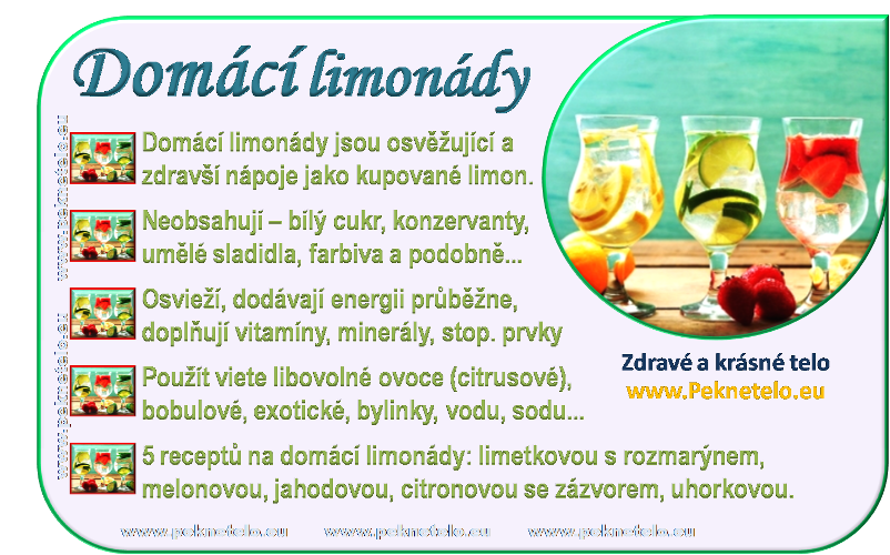 info obrazek domaci limonady