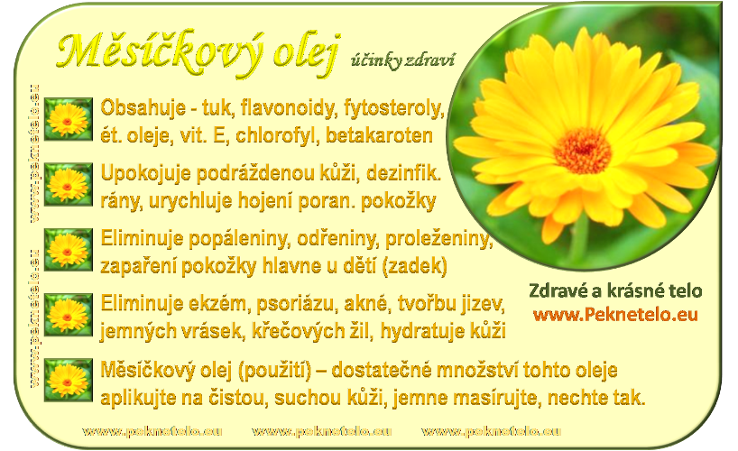 info obrazek mesickovy olej