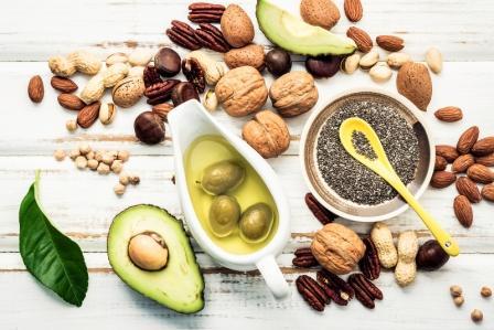 potraviny bohate na omega 3 a rastlinne tuky