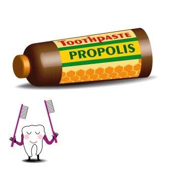 zubni pasta obsahujici propolis