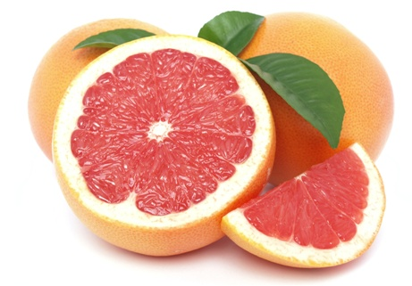 červený grep - červený grapefruit