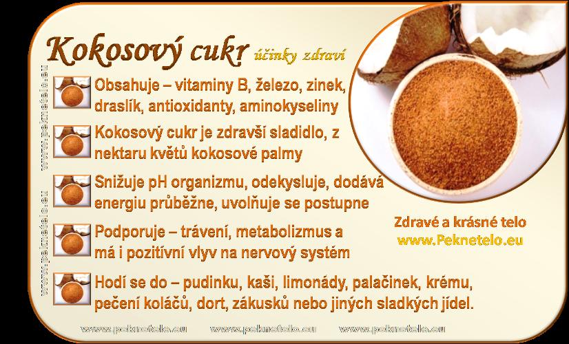 info obrazek kokosovy cukr
