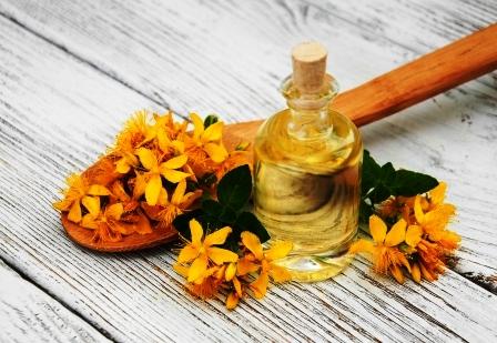 olej z trezalky a kvety