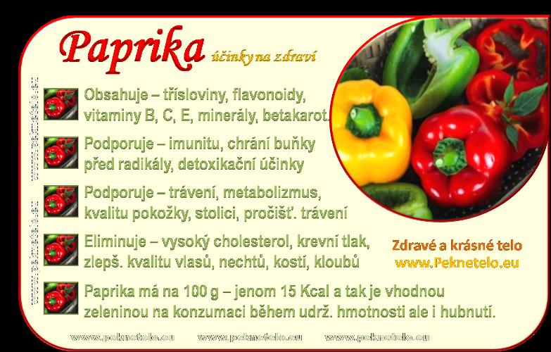 info obrazek papriky