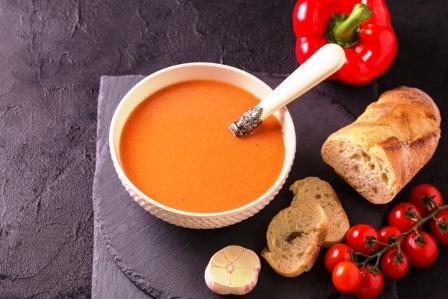 lečo z paprik a rajcat