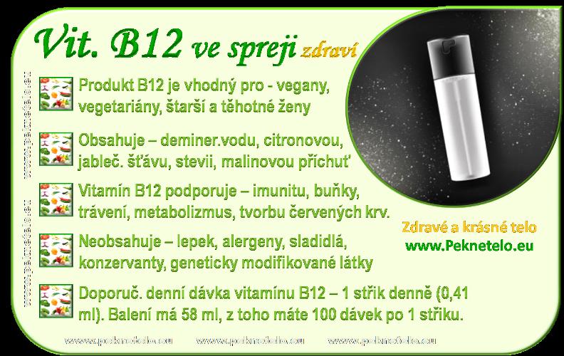 info vitamin B12 v spreji cz