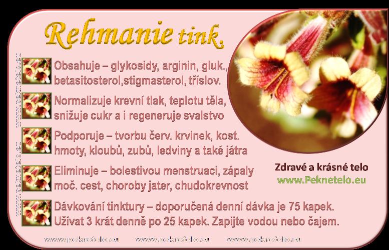 info rehmanie tinktura