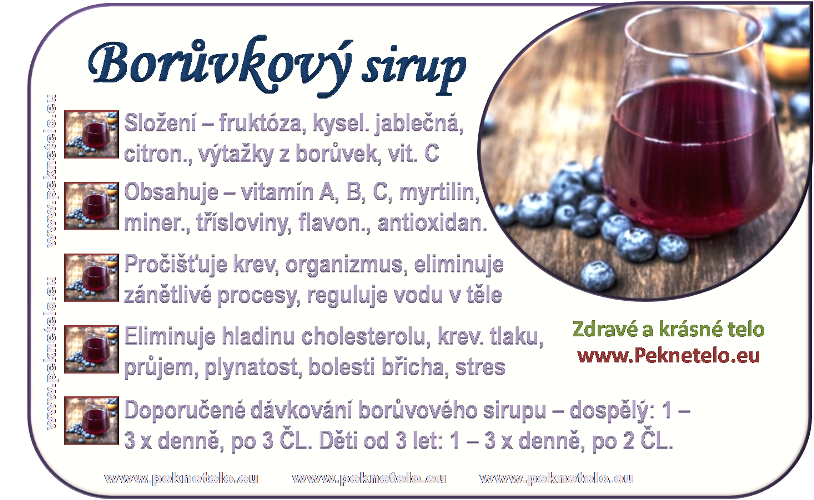 info boruvkovy sirup