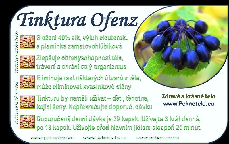 info tinktura ofenz cz